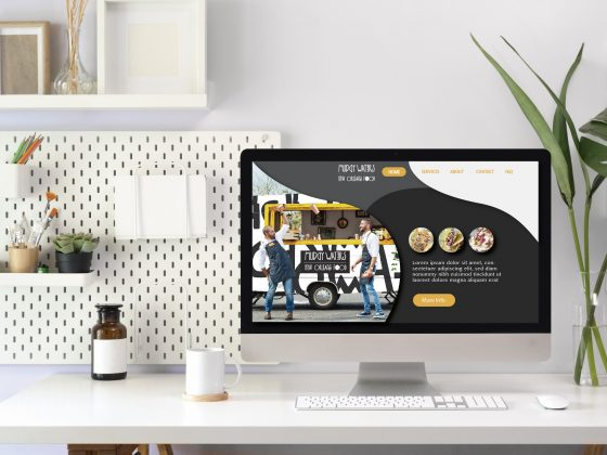 criacao site modernos
