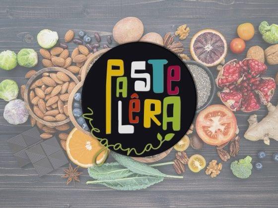 Logomarca vegetariano/vegando