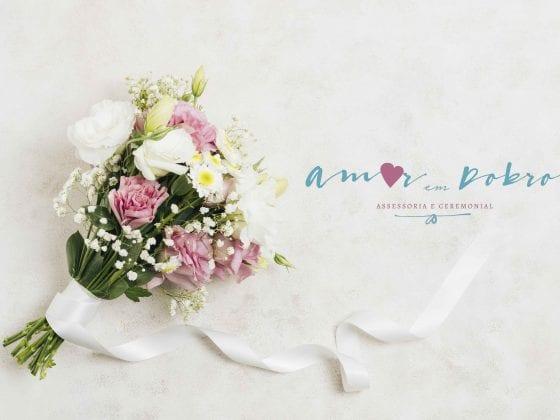 Logomarca casamento