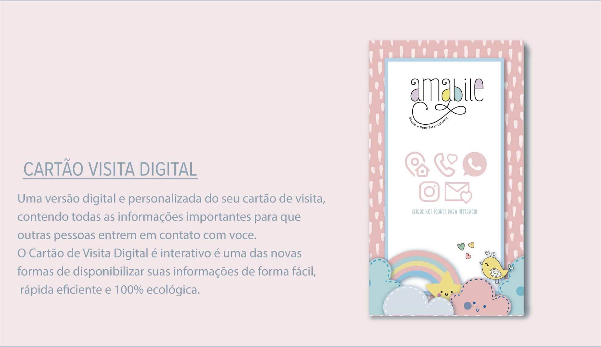 cartão digital personalizado