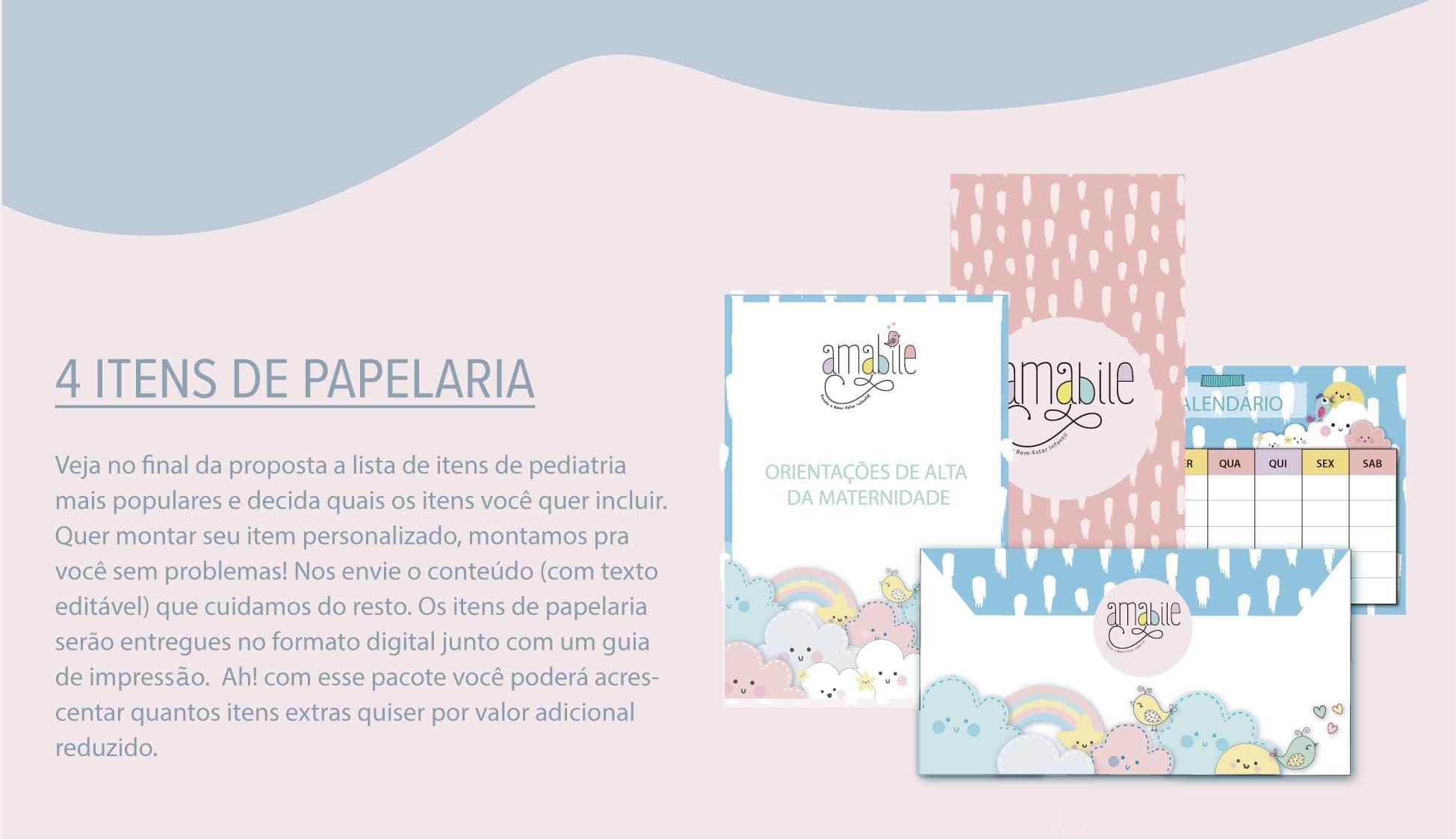 Papelaria - Proposta design gráfico - marcas - criação de marcas